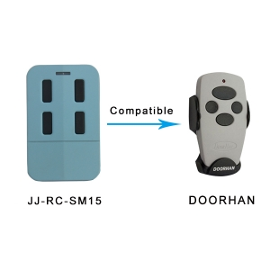 Replace DOORHAN rolling code remote